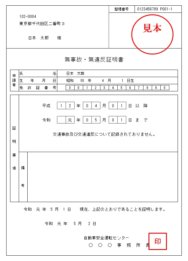 運転 経歴 証明 書 と は 運転免許証の自主返納・運転経歴証明書について
